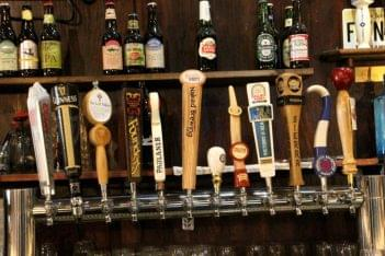 George Street Ale House New Brunswick NJ beer draught taps