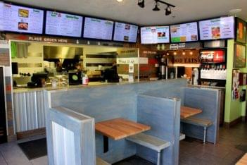 Hansel 'n Griddle Easton Ave New Brunswick NJ seating menu
