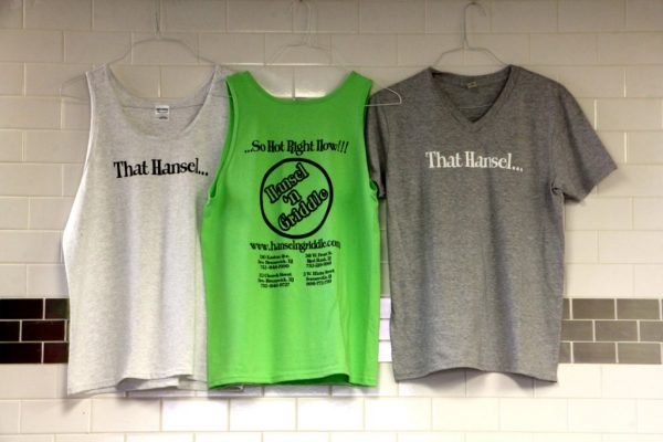 Hansel 'n Griddle Easton Ave New Brunswick NJ shirts