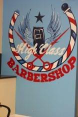High class barbershop Merchantville NJ logo