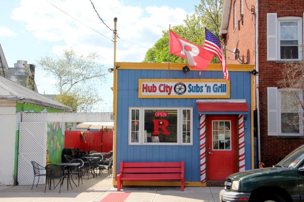 Hub City Subs 'n Grill New Brunswick NJ store front