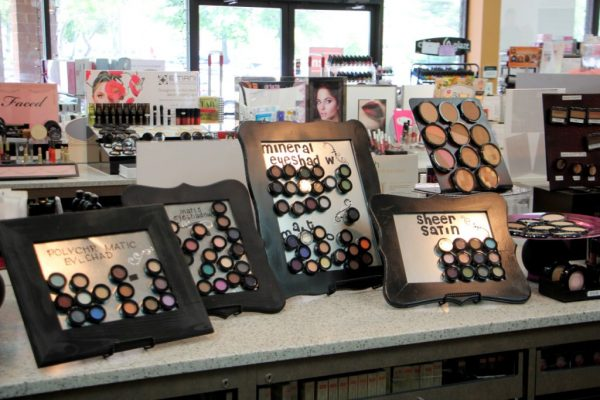 Image Beauty Center Marlton NJ Beauty Supply Store eye shadow display