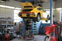 Imported Car Care Center West Berlin NJ yellow porsche 911