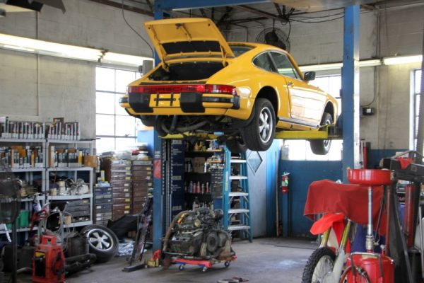 Imported Car Care Center West Berlin NJ yellow porsche 911