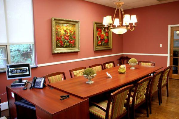 Infinity Title Agency Inc Mt Laurel NJ boardroom