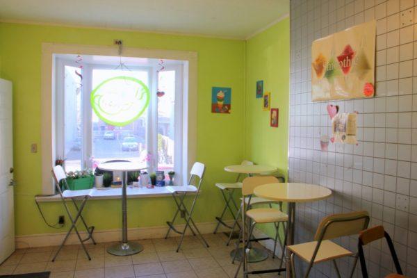 I's Cafe House New Brunswick NJ bubble boba tea seating
