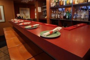 Kabob and Curry Providence RI Indian Restaurant bar counter