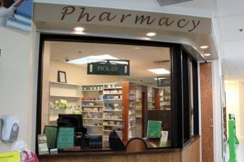 Living well pharmacy Middletown DE counter