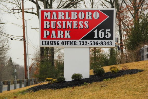 Marlboro Business Park Morganville NJ office space leasing sign