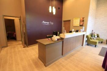 Massage Envy Spa Wexford PA front desk
