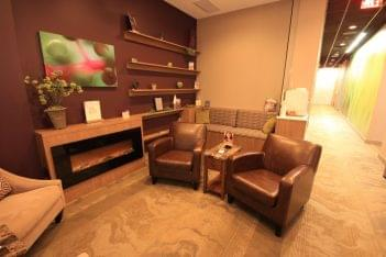 Massage Envy Spa Wexford PA waiting area