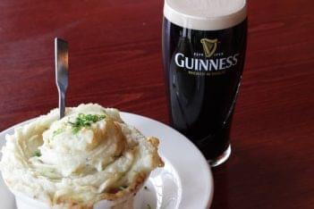 Mcbride's Irish Pub Providence RI guinness mashed potato