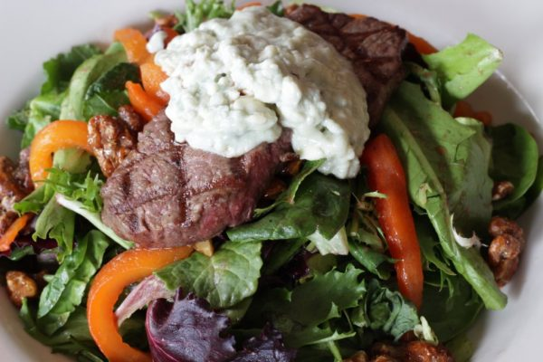 Mcbride's Irish Pub Providence RI steak salad