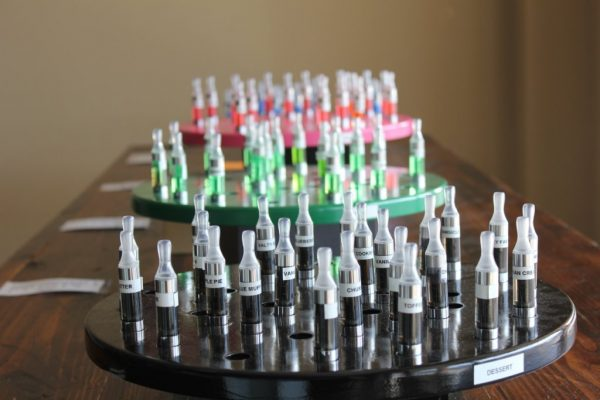 Mode E Cigarettes & Vapor Lounge Berlin NJ juice display