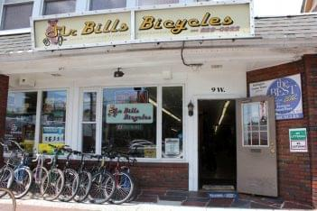 Mr Bill's Bicycles Palmyra NJ store front