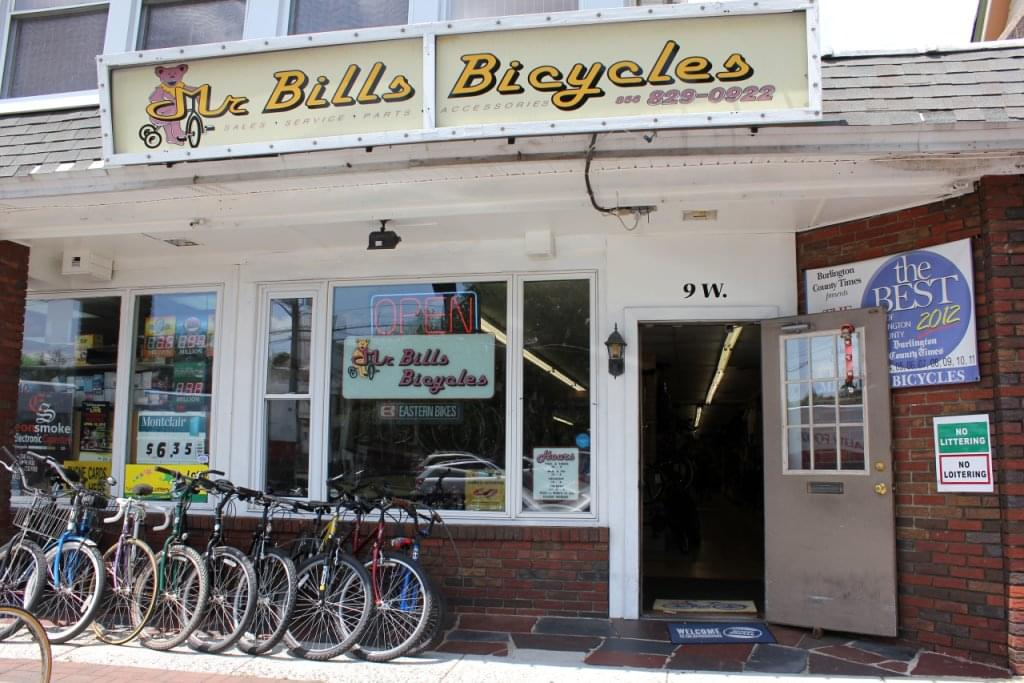 mr bill 39 s bicycles see inside retail store palmyra nj google business view interactive. Black Bedroom Furniture Sets. Home Design Ideas