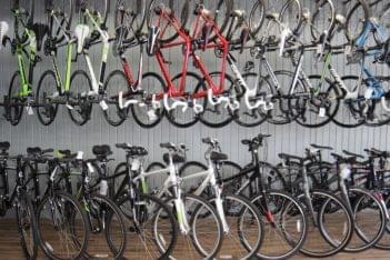 Newport Bicycle Newport RI bike display