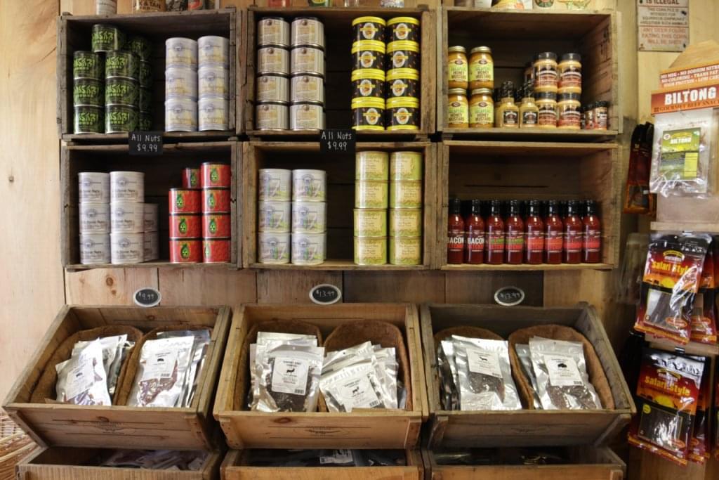 Newport Jerky Company Newport RI nuts exotic gourmet jerky