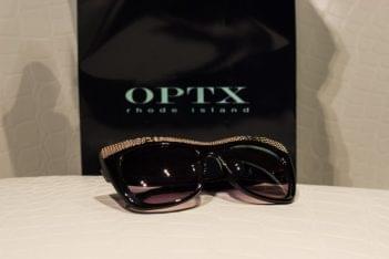 OPTX Rhode Island Johnston RI Eye Care Center Optician sunglasses brow design