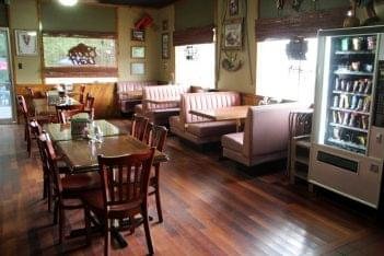 Palace Restaurant & Outfitters Mays Landing NJ booths tables