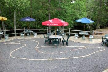 Palace Restaurant & Outfitters Mays Landing NJ patio