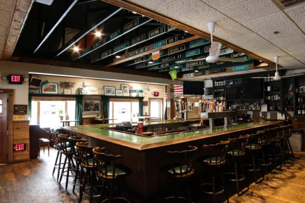 Pancho O Malleys Narragansett RI Irish Pub with Mexican Grub bar