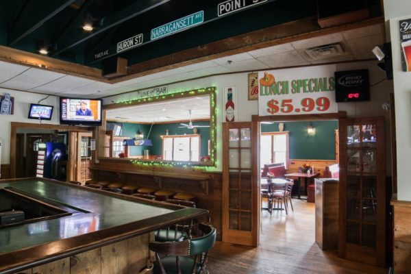 Pancho O Malleys Narragansett RI Irish Pub with Mexican Grub bar dining