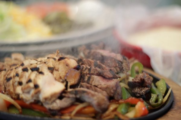 Pancho O Malleys Narragansett RI Irish Pub with Mexican Grub steak fajitas