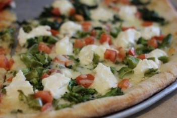 Pronto Pizza Merchantville NJ mozzerella broccoli tomato pie