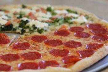 Pronto Pizza Merchantville NJ pepperoni pizza pie