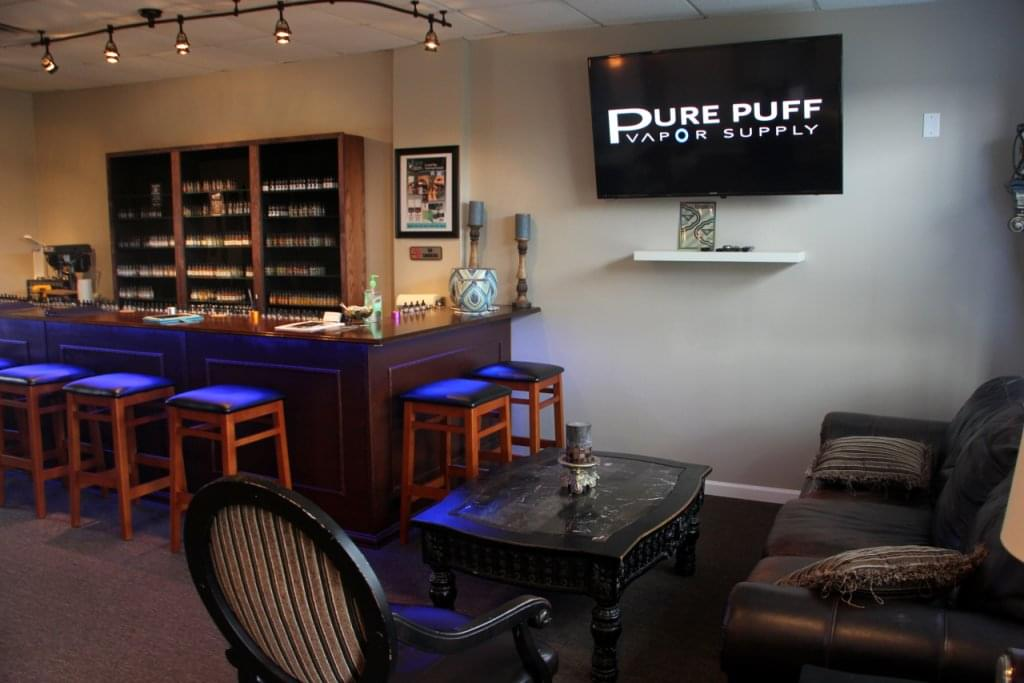 Pure Puff Vapor Supply West Berlin NJ lounge