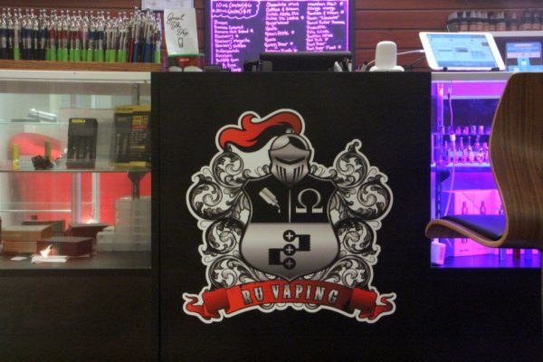 RU Vaping New Brunswick NJ scarlett knight logo