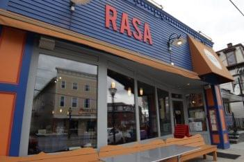 Rasa Restaurant East Greenwich RI Indian food store front