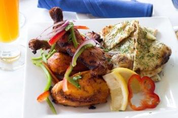Rasoi Restaurant Pawtucket RI Indian chicken naan bread