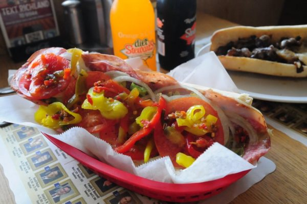 Richland Deli italian hoagie sandwich
