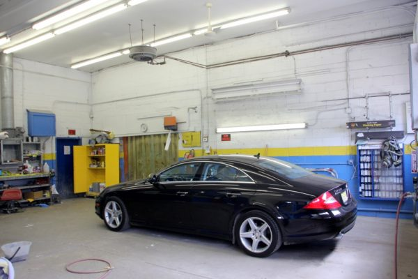 Rick's Route 73 Auto Body Shop West Berlin NJ car garage benz