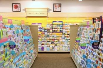 Ruth's Hallmark Shop Voorhees NJ cards aisle