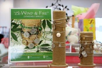 Ruth's Hallmark Shop Voorhees NJ wind and fire bracelets eco-sustainable jewelry