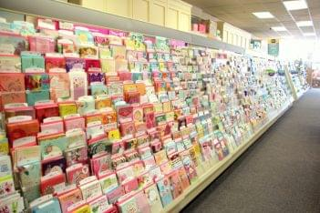 Ruth's Hallmark Cherry Hill NJ card aisle