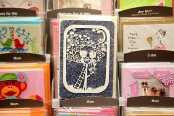 Ruth's Hallmark Cherry Hill NJ paper cut out card love in a tree