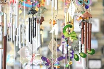 Ruth's Hallmark Cherry Hill NJ wind chimes