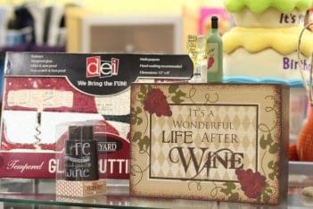 Ruth's Hallmark Deptford Mall NJ it's a wonderful life after wine