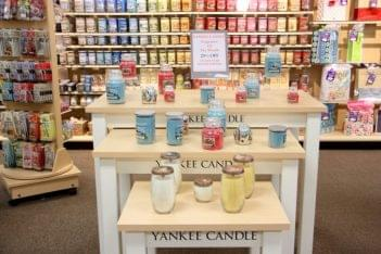 Ruth's Hallmark Shop Medford NJ yankee candle display