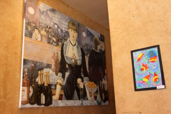 Sanctuary New Brunswick NJ painting A Bar at the Folies-Bergère French painter Édouard Manet