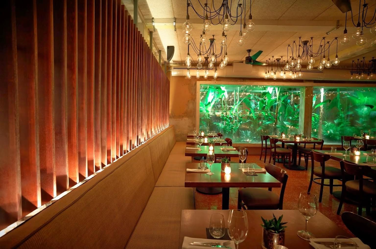 Santaella see inside restaurant san juan puerto rico for Interior design 08003