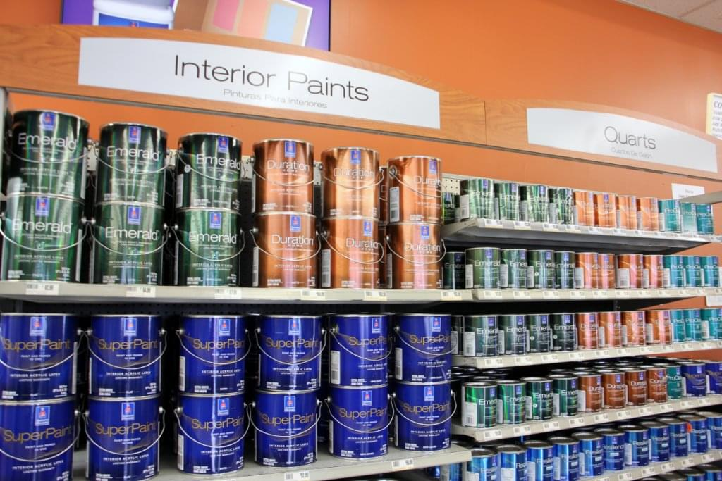 sherwin williams paint store see inside retail store west berlin