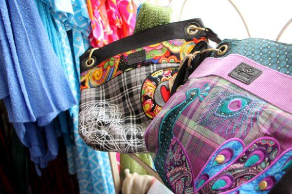 Silver Lining Mt Holly NJ peacock handbag