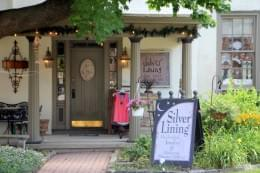 Silver Lining Mt Holly NJ store front womens clothing boutique jewelry accessories
