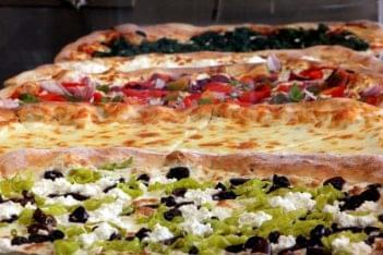 Slice Between Princeton NJ pizzas