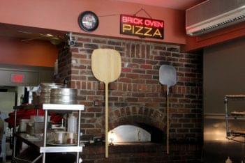 Slice Between Princeton NJ pizzeria brick oven